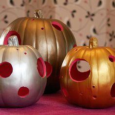 DIY HOLIDAY :Modern Pumpkin Lanterns