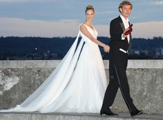 Beatrice Borromeo's Second (And Third!) Armani Wedding Dresses Are Even Better Than Her First—See the Pics!  Beatrice Borromeo, Wedding Dress