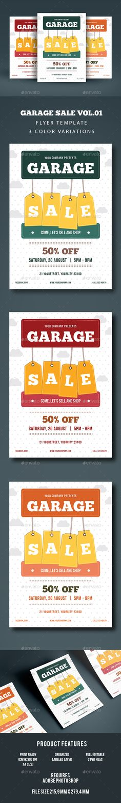 Download This Yard Sale Flyer Template And Other Free Printables