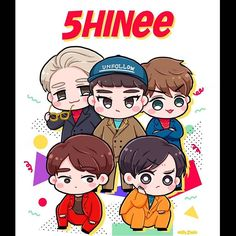 Shinee Minho, Jonghyun, Shinee Albums, Chibi Wallpaper, Vibe Song, Drawing Anime Clothes, Kpop Drawings, Golden Child, Kpop Fanart