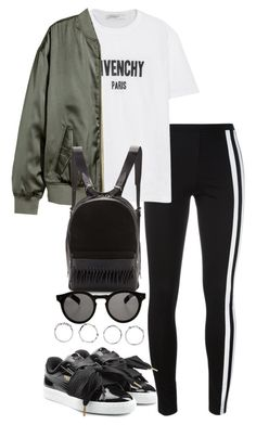 """Untitled #3991"" by theeuropeancloset ❤ liked on Polyvore featuring Y-3, Givenchy, H&M, Puma, 3.1 Phillip Lim, Illesteva and Boohoo"