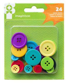 Botones de plastico