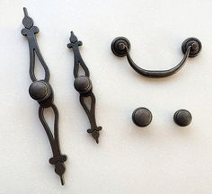French Shabby Chic Dresser Drawer Pulls Handles / by jade4wood