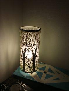 Tulos makuuhuone (mini forest lamp)