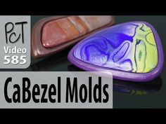 CaBezel Polymer Clay Cabochon and Bezel Molds How To Make Clay, How To Make Beads, Fimo Clay, Polymer Clay Beads, Biscuit, Clay Set, Clay Videos, Clay Baby, Clay Design