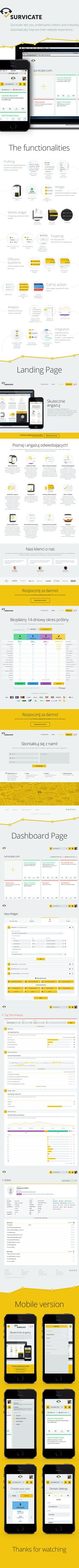 Survicate | We guide your visitors towards purchase on Behance