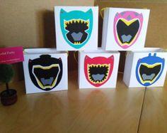 Favores de máscaras inspiradas en guardabosques por WonderfulParty