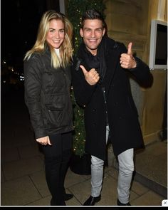 Gemma Atkinson and Aljaz Emmerdale Actors, Gemma Atkinson, Strictly Come Dancing, Professional Dancers, Dancing With The Stars, Manchester, Winter Jackets, Restaurant, Hallmark Movies