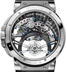 For the first time, a combination of two sophisticated complications in a single timepiece HARRY WINSTON the Ocean Tourbillon Jumping Hour (PR/Pics http://watchmobile7.com/data/News/2013/05/130522-harry_winston-OCEAN_TOURBILLON_JUMPING_HOUR.html) (3/3)