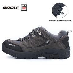 57.20$  Watch here - http://alijzd.worldwells.pw/go.php?t=32778311126 - Apple mens and women's hiking shoes waterproof shockproof silp trekking winter sneakers for men outventure outdoor sports shoes