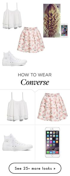 """Untitled #442"" by hannahmcpherson12 on Polyvore featuring MANGO and Converse:"