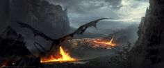 Dragons by 88grzes.deviantart.com on @DeviantArt