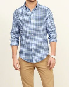 Mens Patterned Shirt