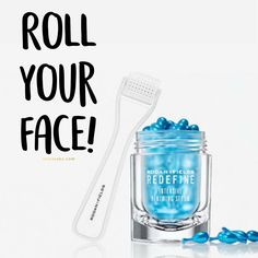 Why you should roll your face. | Micro Needling | Exfoliate | Stainless Steel Needles | Before and After | Intensive Renewing Serum | Rodan and Fields | Rodan + Fields | Anti Aging | Sun Damage | Firmer more youthful looking skin | roller | New Amp MD | R+F | Consultant | Redefine | Reverse | www.thisisjaky.com