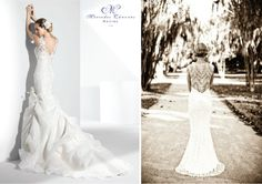 Lace Back Wedding Dresses - Part 1 | bellethemagazine.com