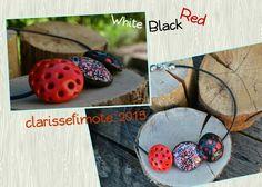 White black and red -clarissefimote 2015