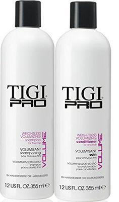 Tigi Pro Weightless Volumizing 12 oz DUO >>> More info could be found at the image url.(This is an Amazon affiliate link and I receive a commission for the sales)