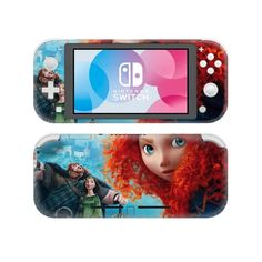 Brave Nintendo switch lite Skin for Nintendo switch lite console. Choose your favorite design from a huge range of switch lite skins collection for Nintendo switch lite console Buy Nintendo Switch, Cool Phone Cases, Cute Gif, Games To Play, Brave, Console, Video Games, Lunch Box, Amazing