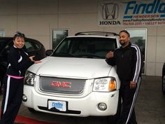 Congrats Anthony and Keiko! The GMC will make a great work truck! From Joey and the Findlay Honda Henderson Family! #FHHFamily #FindlayHondaHenderson