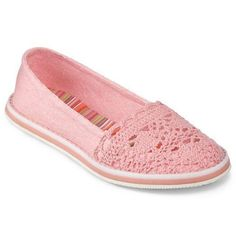Cute #crochet girls shoes from Rocket Dog #aff