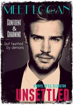 Meet Logan Colton. One of the HOT main characters from Unsettled: A Novel. I'm so jealous that Brooklyn gets a piece of him!  My fiction boyfriend is better than yours! Hahaha