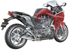 Technically an interesting bike, honda vfr1200 has been adopted by many as the ultimate sports package.