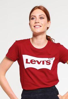 Vêtements Levi s® THE PERFECT - T-shirt imprimé - sun dried tomato rouge  foncé 53541425517