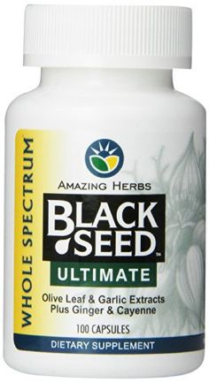 Product review for Amazing Herbs Black Seed Ultimate with Garlic, Ginger, Cayenne Capsules, 100 Count -  Reviews of Amazing Herbs Black Seed Ultimate with Garlic, Ginger, Cayenne Capsules, 100 Count. Buy Amazing Herbs Black Seed Ultimate with Garlic, Ginger, Cayenne Capsules, 100 Count on ✓ FREE SHIPPING on qualified orders. Buy online at BestsellerOutlets Products Reviews website.  -  http://www.bestselleroutlet.net/product-review-for-amazing-herbs-black-seed-ultimate-wi