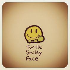 Turtle Smiley Face #turtleadayjuly - @Turtle Wayne- #webstagram
