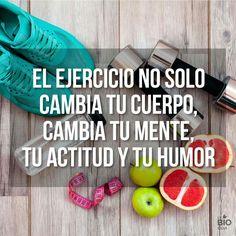 El ejercicio no solo cambia tu cuerpo, cambia tu mente, tu actitud y tu humor