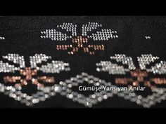 Musaka, Asian Bridal Dresses, Diy And Crafts, Hair Accessories, Embroidery, Crochet, Youtube, Modern, Punto De Cruz
