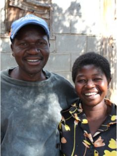 "Samuel and his wife Gladys have been working together as a team for over 12 years, he does the carving and she sands the sculptures. They produce the ""Family of Three"" and ""Family of Four"" sculptures. They have two daughters and live in the town of Mutare, Zimbabwe."