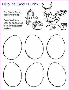 Rechenkas eggs writing activity for grade
