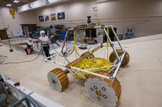 NASA's New Moon Rover Tested in Lunar Operations Lab | NASA
