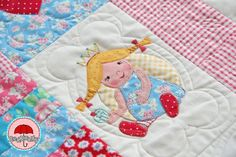 Red Brolly quilt #quilt #patchwork