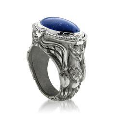 Edward Mirell lapis Guardian ring