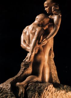 Eternal Idol - Auguste Rodin. Artist: Auguste Rodin. Completion Date: 1889