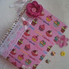 DIY: decoração de caderno com tecido — Niina Secrets