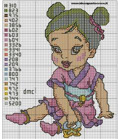 SCHEMA+BABY+MULAN+PUNTO+CROCE+by+syra1974.deviantart.com+on+@deviantART