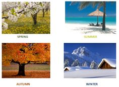 Important to enjoy each season and what it offers.......make the most of life.