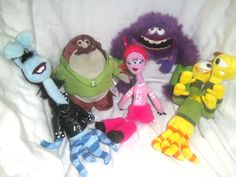 Disney Store - Monsters University - 5 Characters -Official Disney Store Product