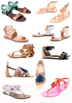 Summer Sandals-different styles and price points