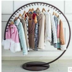 European style iron art clothes hat stand on the floor of a fashion clothing store display rack|standing clothing rack|hat rack|stand clothes - AliExpress - 11.11_Double 11_Singles Day