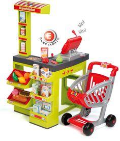 Smoby Smoby Supermarkt mit Einkaufswagen » Jetzt online kaufen ✔ Versandkostenfrei ab 50CHF ✔ Große Auswahl an Smoby ✔ Schnelle Lieferung ✔
