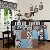 Found it at Wayfair - Boutique Scribble 13 Piece Crib Bedding Set