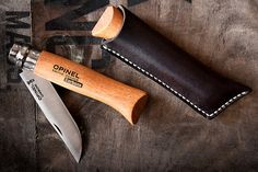 Opinel No8 is the most sold and versatile size in the ever growing line of Opinel folding knives. This knife is small enough to be used as a pocket
