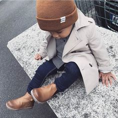 40 Edgy and Chic Outfits For Women fashion style stylish girl fashion womens fas - Kinderkleidung - Fashion Kids, Girl Fashion Style, Toddler Boy Fashion, Toddler Boy Outfits, Toddler Boys, Toddler Boy Style, Little Boy Fashion, Kids Style Boys, Baby Boy Style