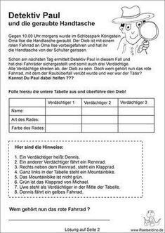 9 besten Schule deutsch Bilder auf Pinterest   Arbeitsblätter ...