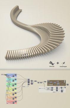 parametric bench design dimensions - Google Search