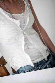 Simply me ~ summer whites and jeans